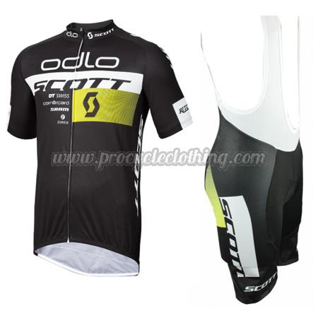 2015 Team SCOTT odlo Pro Riding Apparel Summer Winter Bicycle Jersey ... e9257e127