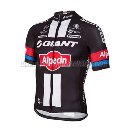 2016 Team GIANT Alpecin Cycle Apparel Summer Winter Riding Shirt ... e37128b05