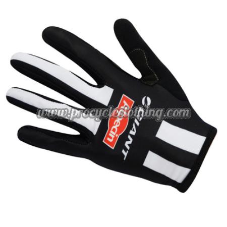 2017 Team GIANT Alpecin Cycling Long Gloves Full Fingers Black White 069da7746