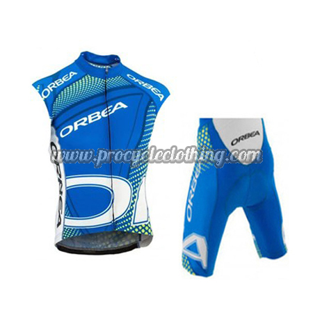 2015 Team ORBEA Pro Biking Apparel Set Cycle Sleeveless Vest and ... 7ada563a4