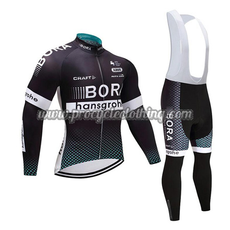 2017 Team BORA hansgrohe Winter Riding Outfit Thermal Fleece Cycle ... b1d99e69b
