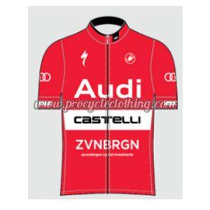 53548ff5c 2017 Team Audi Castelli Cycle Apparel Summer Winter Riding Shirt ...