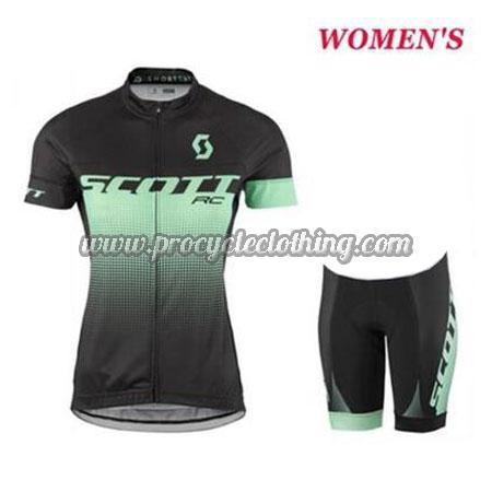 2017 Team SCOTT Pro Bike Clothing Set Cycle Jersey and Shorts Black ... 7ce3f08e7