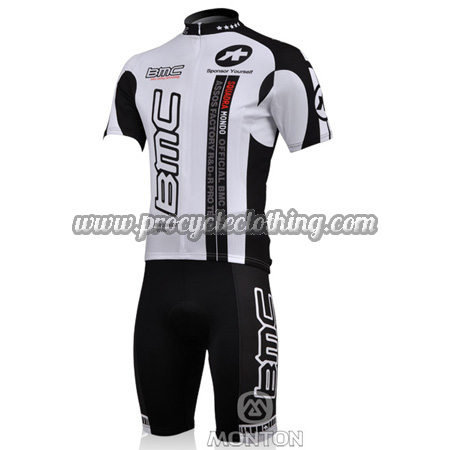 4fe186dad 2010 Team BMC Pro Bike Clothing Kit Cycle Jersey and Shorts White ...