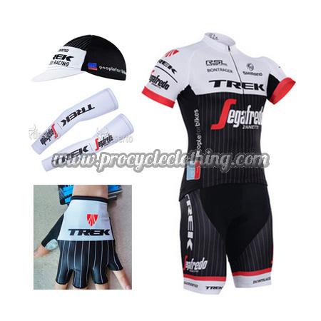 3e6406c75b6 2016 Team TREK Bike Clothing Set Cycle Jersey and Padded Shorts+Cap+ ...