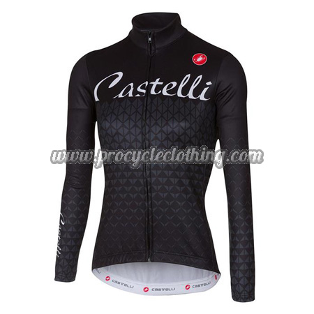2017 Team Castelli Womens Winter Bicycle Clothing Thermal Fleece ... 520886ed5