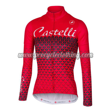 2017 Team Castelli Womens Pro Bicycle Clothing Riding Long Jersey ... e45847efb