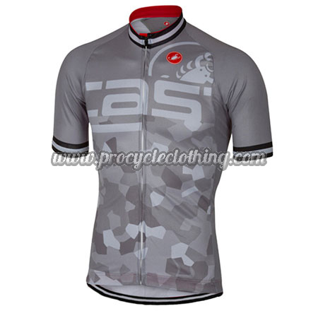 ceb6a7bf0 2018 Team Castelli Biking Outfit Riding Jersey Maillot Grey ...