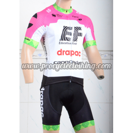 3f9dd0dcd 2018 Team EF Drapac cannondale Riding Clothing Set Cycle Jersey and ...