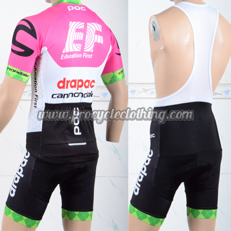 2018 Team EF Drapac cannondale Riding Wear Cycle Jersey and Padded ... ad68dfcf5