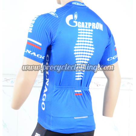 2018 Team GAZPROM COLNAGO Biking Outfit Riding Jersey Maillot Shirt ... 48bc67a47