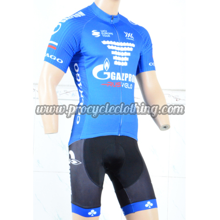 18c13fcefd1 2018 Team GAZPROM COLNAGO Riding Clothing Set Cycle Jersey and ...
