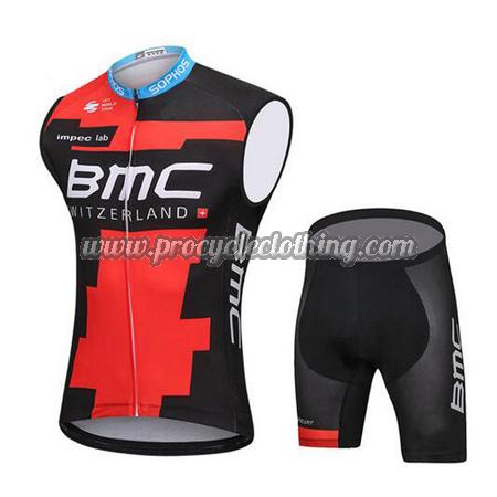 4cc74ef6a 2018 Team BMC Pro Biking Apparel Set Riding Sleeveless Vest and ...