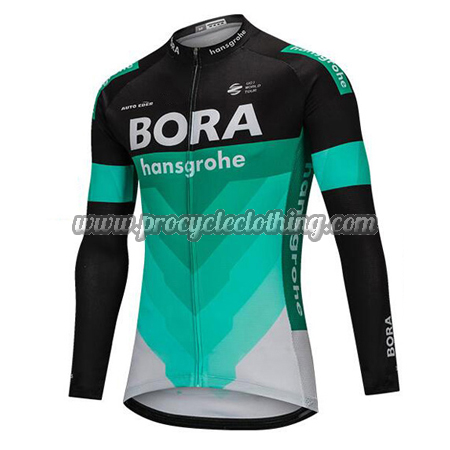 2018 Team BORA hansgrohe Winter Riding Clothing Thermal Fleece Cycle ... d07660457