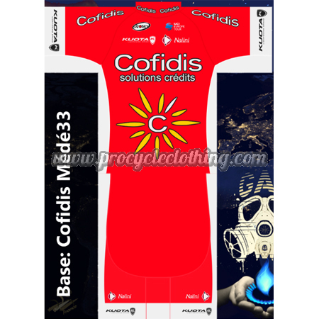 2018 Team Cofidis Biking Clothing Summer Winter Cycle Jersey and ... fd13b1fc3