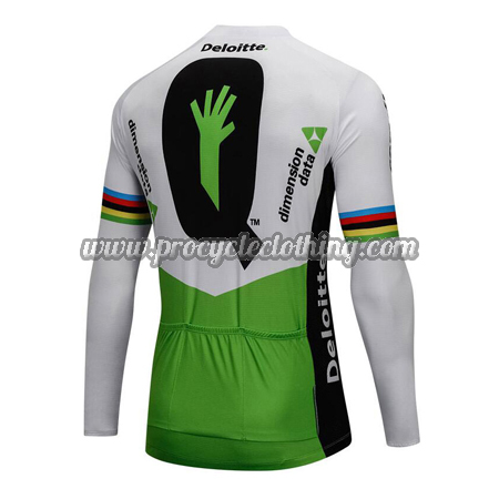 8604449f6 2018 Team Dimension data Winter Riding Clothing Thermal Fleece Cycle ...