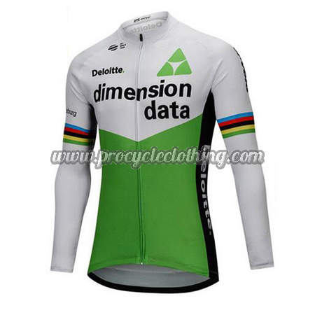 8889071b2 2018 Team Dimension data Riding Clothing Cycle Long Sleeves Jersey ...
