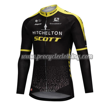 2018 Team MITCHELTON SCOTT Riding Clothing Cycle Long Sleeves Jersey ... 170c7e0c2