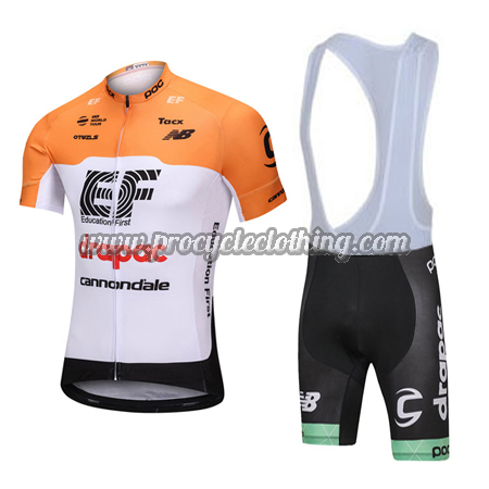 9b58c8f9f 2018 Team EF Drapac cannondale Riding Wear Cycle Jersey and Padded ...