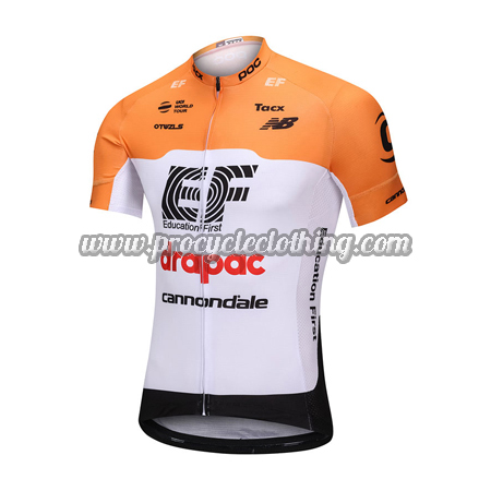 2018 Team EF Drapac cannondale Biking Outfit Riding Jersey Maillot ... db659f2c1