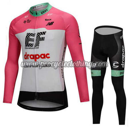 c771a86eb 2018 Team drapac cannondale Biking Wear Cycle Long Jersey and Pants ...