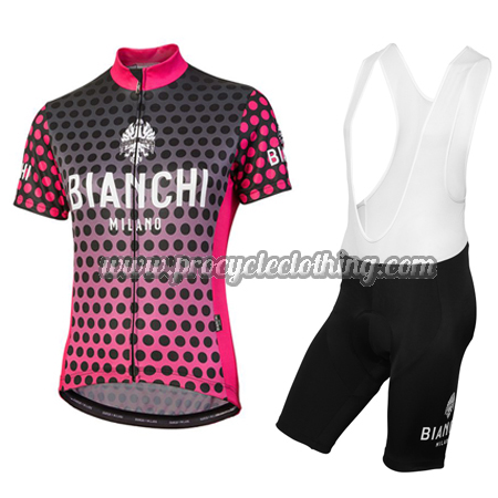 dc2bcb1c1 2018 Team BIANCHI Womens Pro Riding Clothing Cycle Jersey and Bib ...