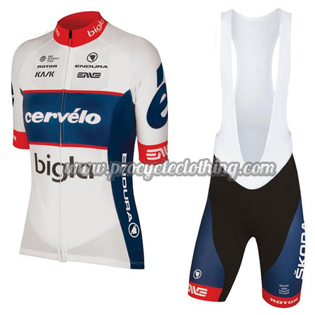 2018 Team Cervelo Bigla Riding Wear Cycle Jersey and Padded Bib ... 7b548a5f1