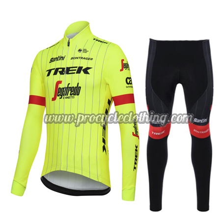 2018 Team TREK Segafredo Winter Biking Wear Thermal Fleece Cycle ... fa8c2b337