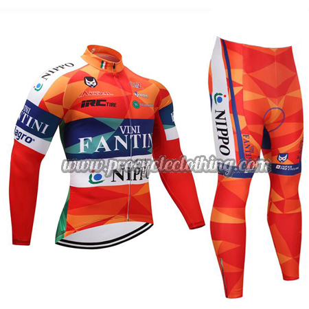 2018 Team VINI FANTINI NIPPO Biking Wear Cycle Long Jersey and Pants ... 3aca5958b
