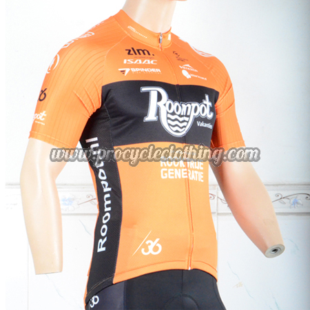 2018 Team Roompot Biking Outfit Riding Jersey Maillot Shirt Yellow ... c903b52c9