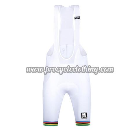 2018 Team Santini UCI Champion Biking Wear Riding Bib Shorts Bottoms ... e1c5e39ad